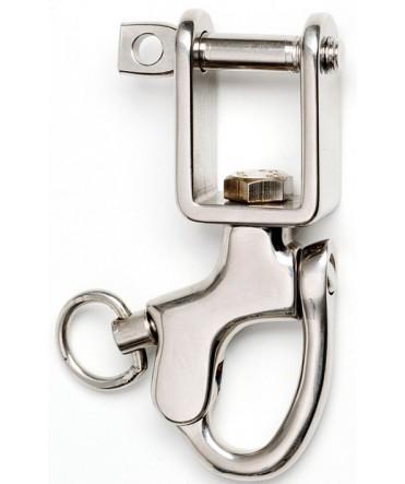 Mousqueton de sécurité 100 mm - Trait ou chaînette