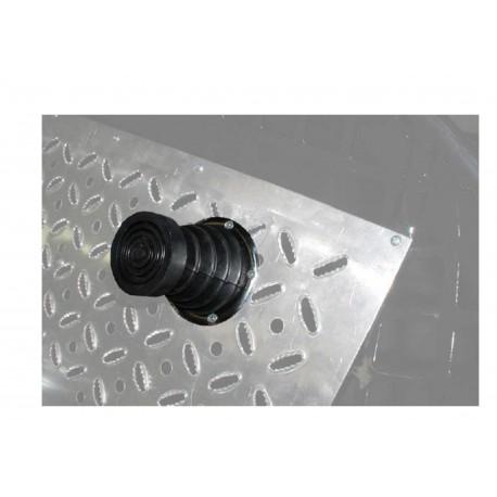 Soufflet pour pédale de frein sans tampon