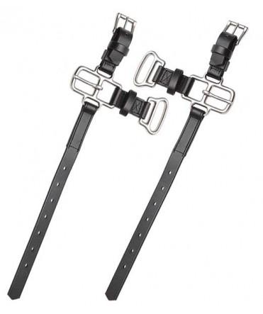 Boucleteau de trait de sécurité pour bricole anatomique, 32 mm - La paire